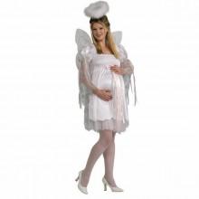 halloween-kostueme-fuer-schwangere-frauen-engel