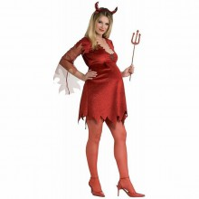 halloween-kostueme-fuer-schwangere-frauen-rote-teufel