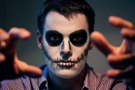Halloween Make Up Ideen Fuer Maenner Einfach Make Up Ideen Kunstop De