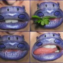 lustige-bizarre-lidschatten-hippo-muendung-halloween-37