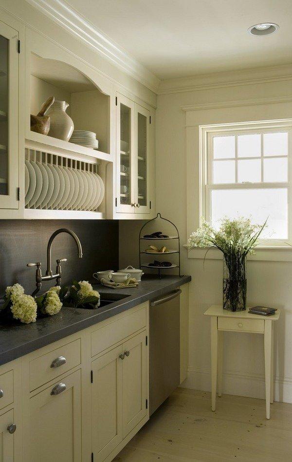 modernen Teller-Regale-Ideen moderne-weiß-Küche-Schränke-design ...