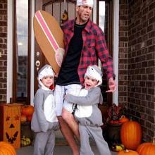 non-scary-halloween-kostueme-diy-familie-halloween-kostueme-ideen