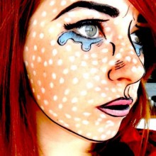 popart-stil-halloween-make-up-ideen-frauen-9