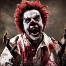 scary-halloween-kostueme-ideen-clown-blut-halloween-party-kostueme