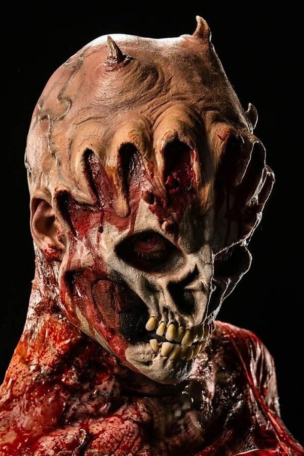 scary halloween kostueme masken und make up ideen horror. Black Bedroom Furniture Sets. Home Design Ideas