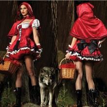 slutty-halloween-kostueme-damen-halloween-party-kostuem-ideen-little-red-riding-hood