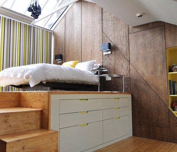 Ideen Fur Kleine Schlafzimmer kleines schlafzimmer gestalten farben wei hellgrau holzmbel laminatboden Schlafzimmer Gestaltungsideen Fr Kleine Schlafzimmer Storage Ideen