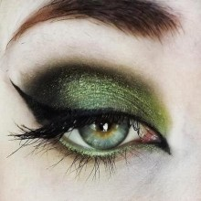 the best halloween witch make up ideas green black