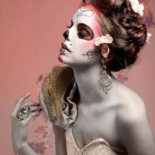 the best halloween witch make up ideas white red spider web